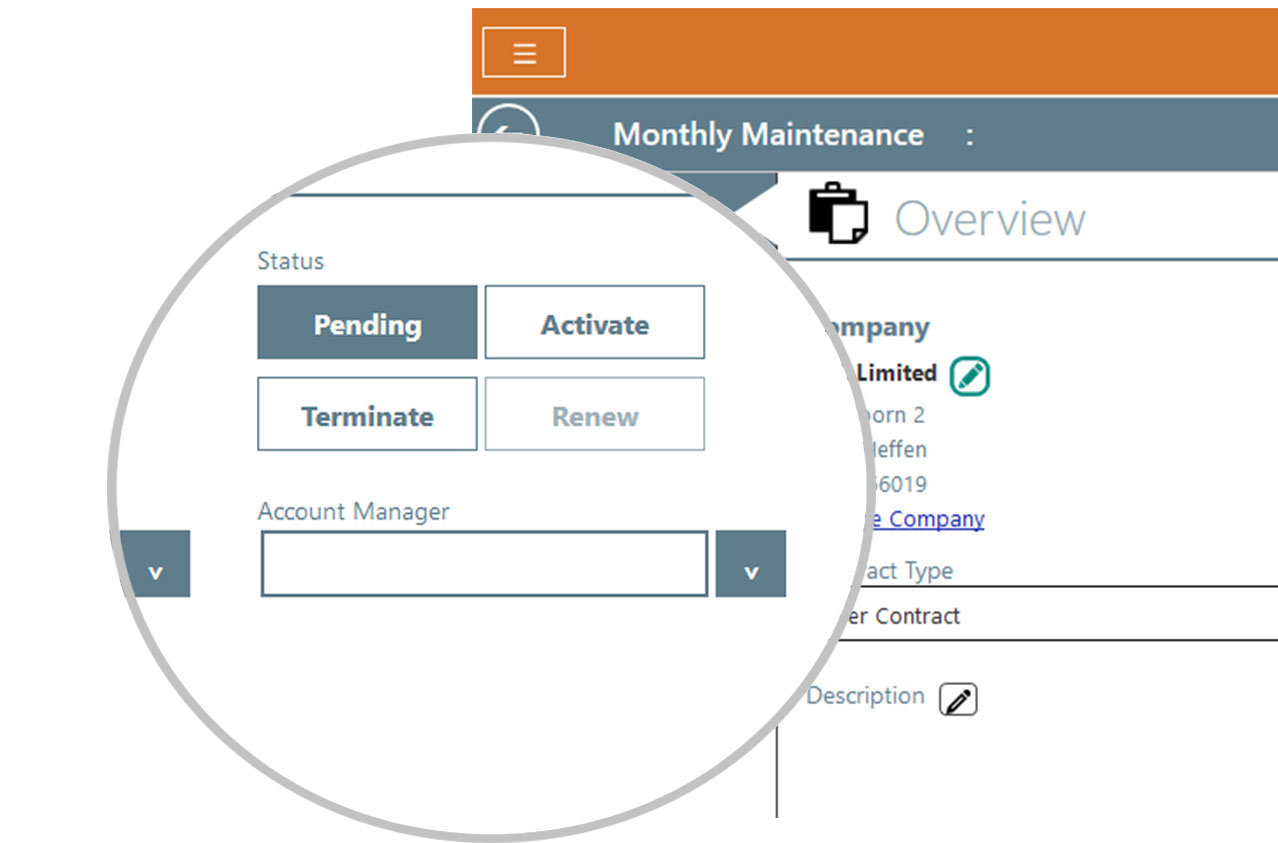 Contract module - Schedule preventive maintenance automatically